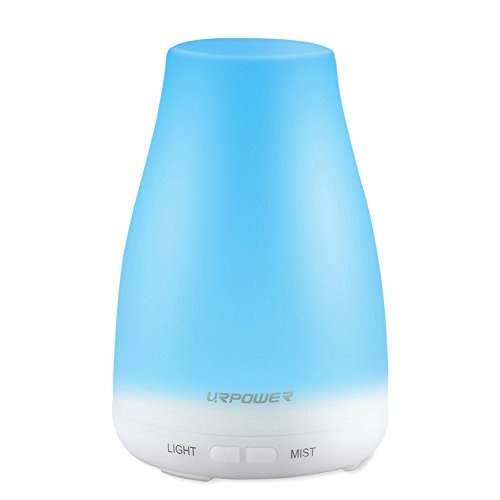 URPOWER 2nd Version Essential Oil Diffuser,100ml Aroma Essential Oil