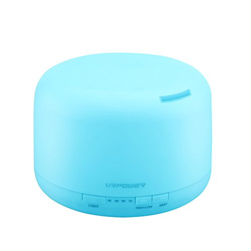 URPOWER Aromatherapy Essential Oil Diffuser Humidifier with 4 Timer