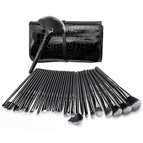 USpicy Makeup Brushes 32 Pieces Cosmetics Make Up Brush