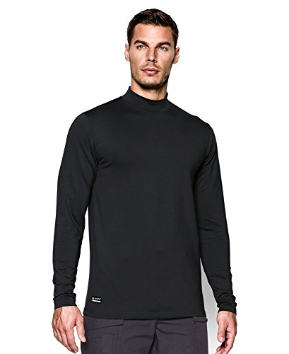 $54.99 Under Armour Men\'s ColdGear Infrared Tactical Fitted Mock Shirt,