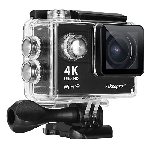 Action Camera-Vikeepro 4K Waterproof Sports Camera With 170 Degree