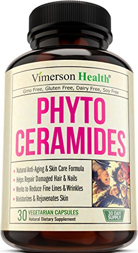 Phytoceramides Skin Care, Hair  Nails Supplement. Natural Anti