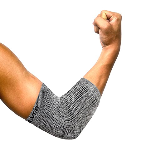 Vital Salveo- Mild Compression Germanium+Bamboo Charcoal Elbow Sleeve/brace, Athletic,M(1PC)