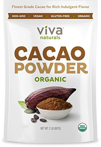 Viva Naturals 1 Best Selling Certified Organic Cacao Powder