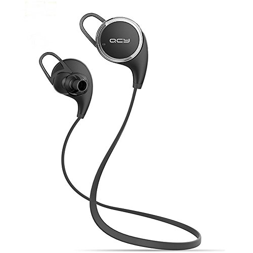 Win-Market® Qy8 Bluetooth Headphones V4.1 Wireless Sport Stereo In-Ear