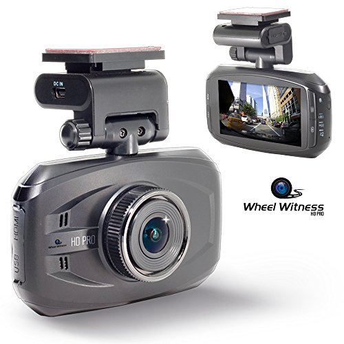 WheelWitness HD PRO Dash Cam with GPS – 2K