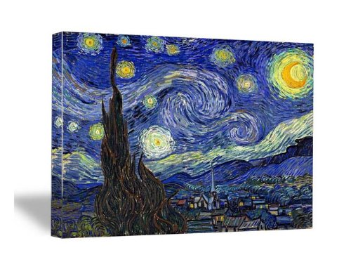 Wieco Art - Canvas Print for Van Gogh Oil