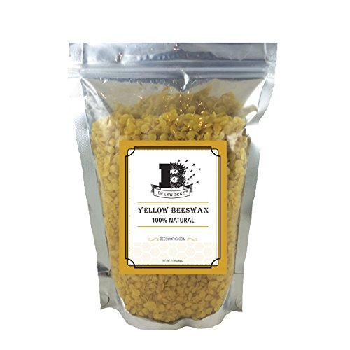 Your Natural Planet (Now Beesworks®) BEESWAX PELLETS, YELLOW, 1lb-Must