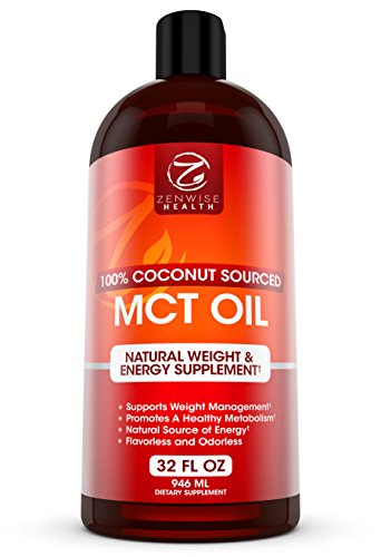 MCT Oil - 100% Derived from Coconut Oil -