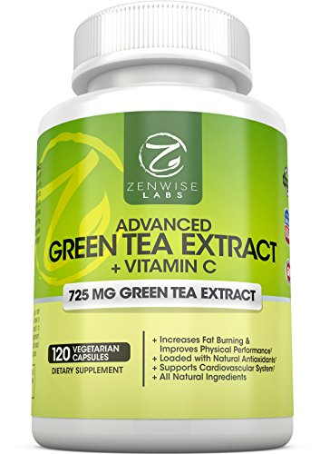 Green Tea Extract Supplement with EGCG for Weight Loss
