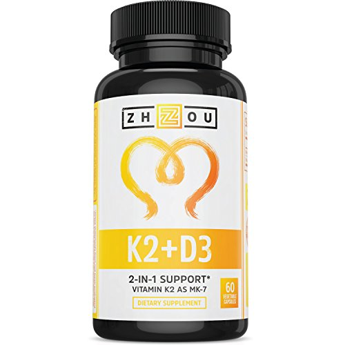 Vitamin K2 (MK7) with D3 Supplement – Vitamin D