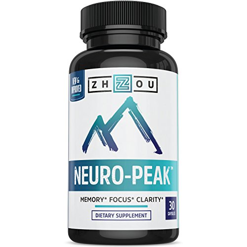 Natural Brain Function Support for Memory, Focus  Clarity