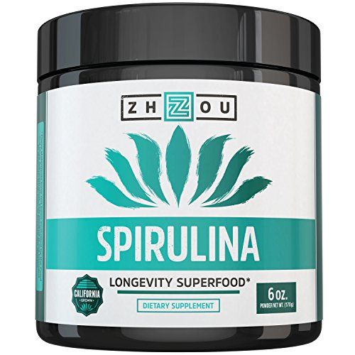 Non-GMO Spirulina Powder - Sustainably Grown in California -
