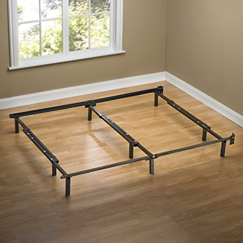 Zinus Compack Adjustable Steel Bed Frame, for Box Spring