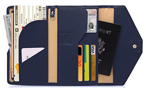 Zoppen Mulit-purpose Rfid Blocking Travel Passport Wallet (Ver.4) Tri-fold