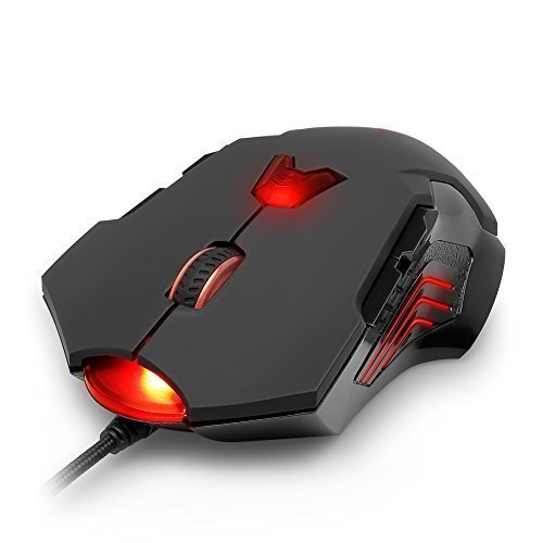 aLLreLi 8200 DPI High Precision Laser Gaming Mouse (M811Lu)