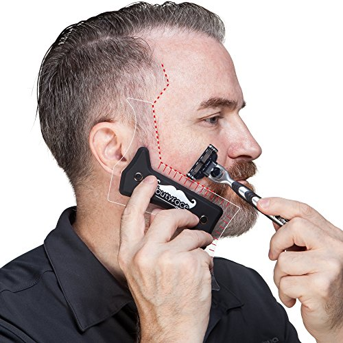 Butyface Beard Styling tool  Shaping Template for using
