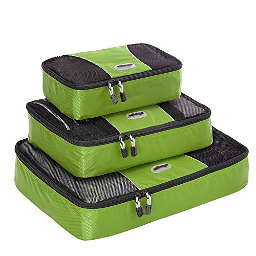 $25.99 eBags Packing Cubes – 3pc Set (Grasshopper)