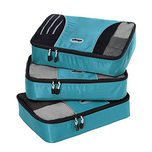 $25.99 eBags Medium Packing Cubes - 3pc Set (Aquamarine)