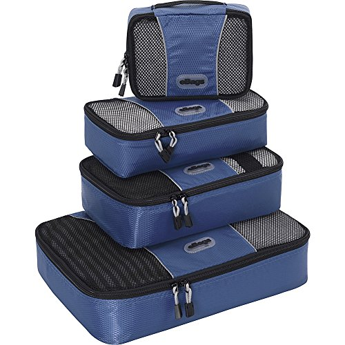 $29.99 eBags Packing Cubes - 4pc Small/Med Set (Denim)