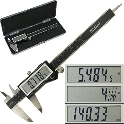 iGaging IP54 Electronic Digital Caliper 0-6″ Display Inch/Metric/Fractions Stainless