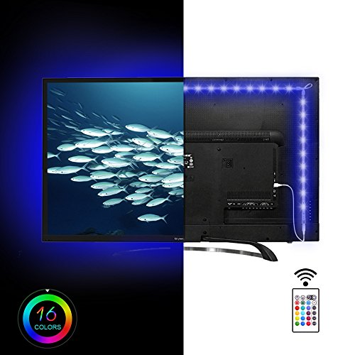 Maylit(tm)USB TV Light Strip Under Cabinet Mood Backlighting For