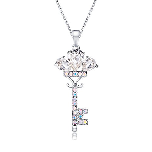 Get A Free Key Shaped Pendant Necklace With Swarovski Crystals!