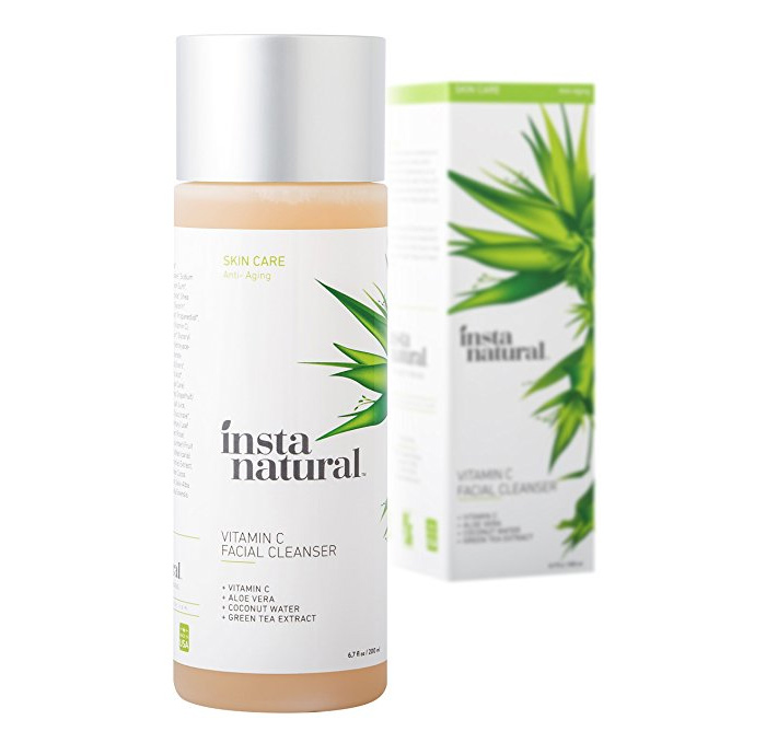 Get A Free Vitamin C InstaNatural Facial Cleanser!