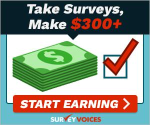 Get $$$ From Survey Voices!