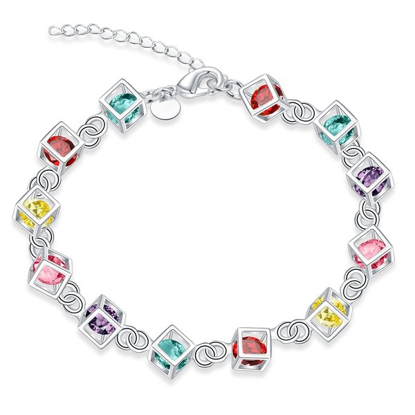 Get A Free Rainbow Colored Rubix Cube Sterling Silver Charms!