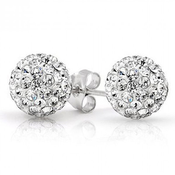 Get 2 Ct Inspired Swarovski Crystal Ball Studs FREE!