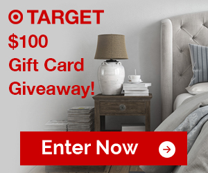 Win A $100 Target Gift Card!