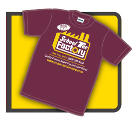Get A Free T-Shirt From School Tee Factory!