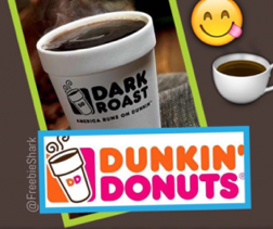 Get A Free $5 Dunkin Donuts Gift Card + Free Coffee!