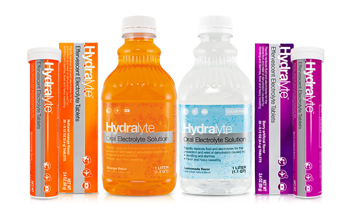 Get A Free Hydralyte Rehydration Solution!