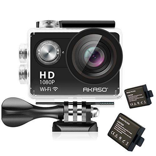 AKASO Action Camera 1080P HD WiFi 12MP Waterproof Sports