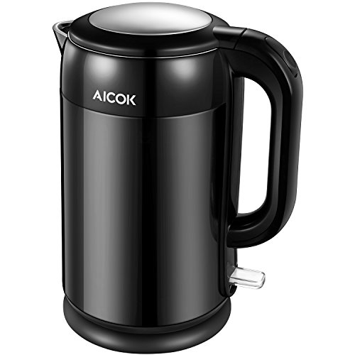 Aicok Stainless Steel Interior Double Wall Cool Touch Cordless