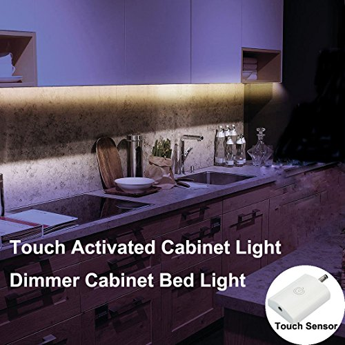 Amagle Touch Activated Cabinet Light ,Flexible LED Strip Night