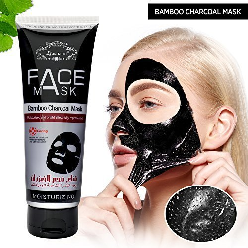 Deep cleansing black face peel off mask for blackhead