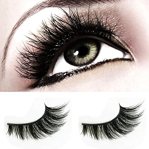 3D Mink Fur Fake Eyelashes- Makeup Natural Fake Thick