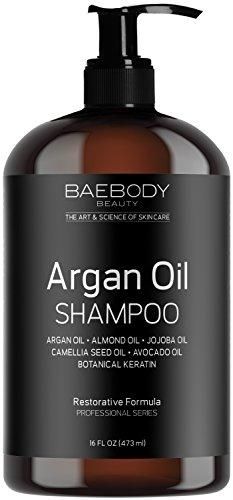 Baebody Moroccan Argan Oil Shampoo 16 Oz - Sulfate