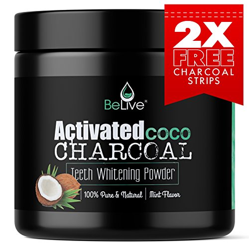 Teeth Whitening Charcoal Powder made from Organic Coconut Shell