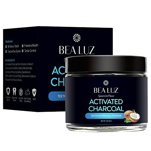 Teeth Whitening Activated Charcoal Powder ñ From Organic Coconut