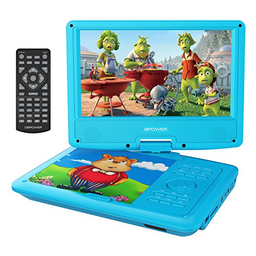 DBPOWER 9″ Portable DVD Player for Kids, Swivel Screen