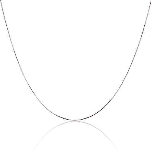 925 Sterling Silver 1MM Snake Chain - Nickel Free