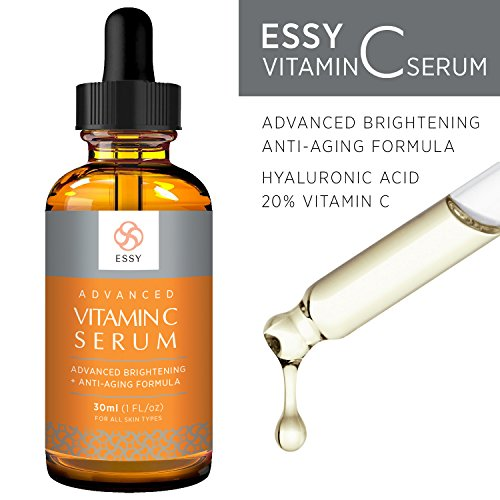 Essy Beauty Vitamin C Facial Serum for Face, Organic