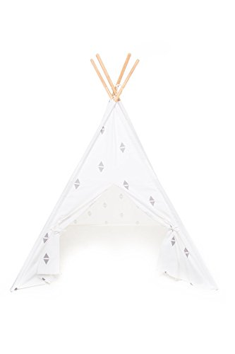 Play Teepee for Kids – 100% Cotton Canvas Portable