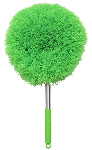 FoVo Dad\'s Feather Duster Microfiber Duster Telescoping Handle