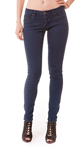 Women\'s Butt Lift Stretch Denim Jeans-P37369SKX-Darkwash-18