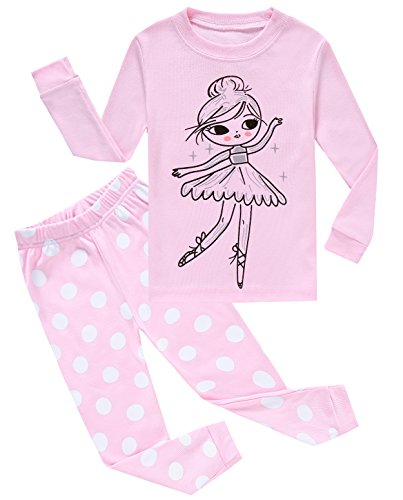 IF Pajamas Big Girls Pjs Sets Long Sleeve Pajamas